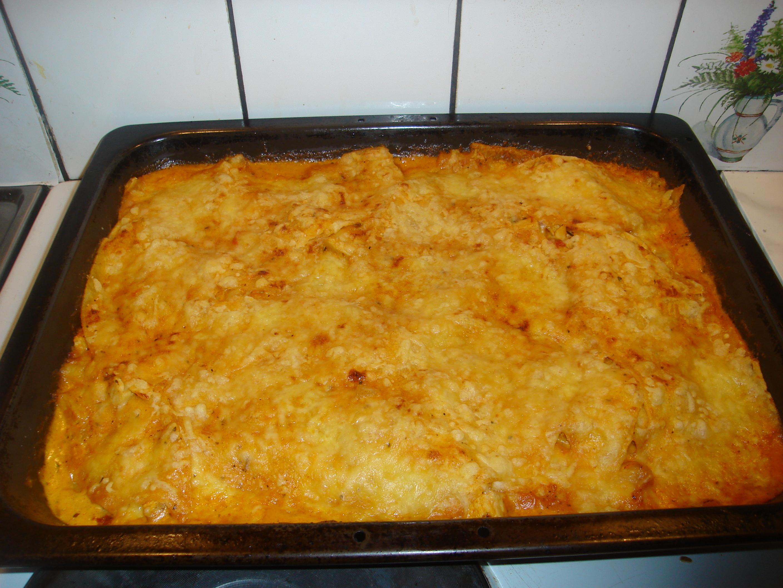 taco kyckling lasagne