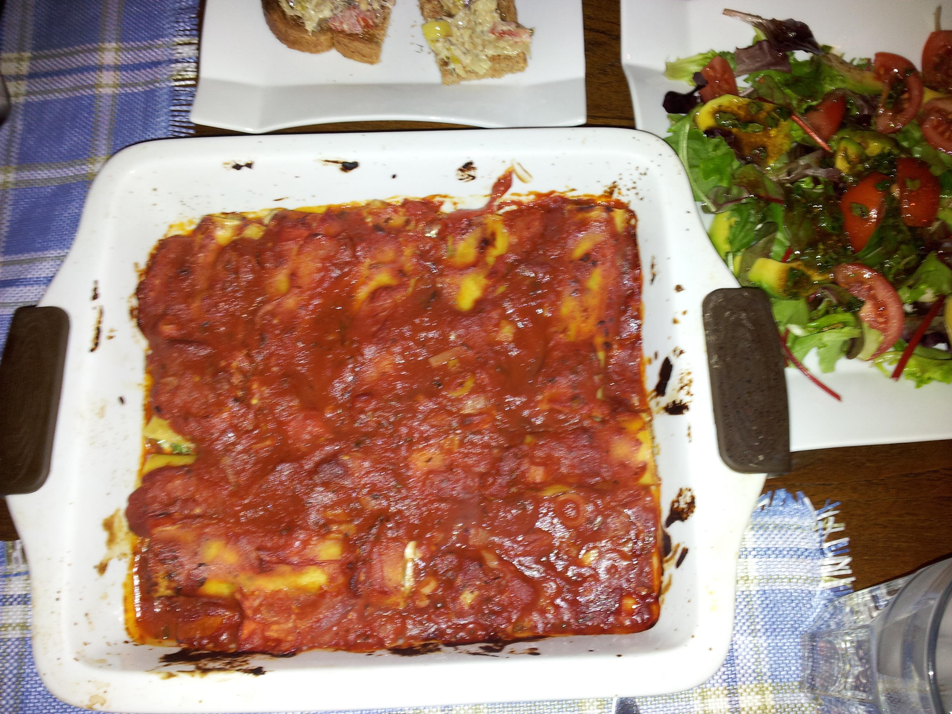 färskost med philadelphiaost och parmesan