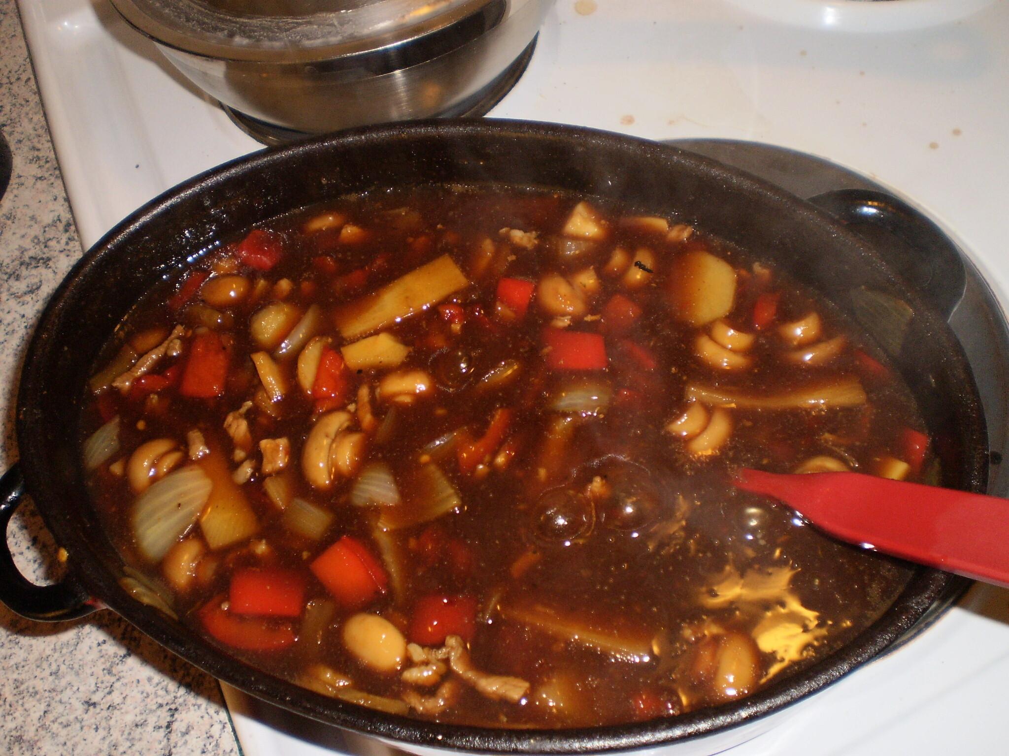 schnitzel med ris