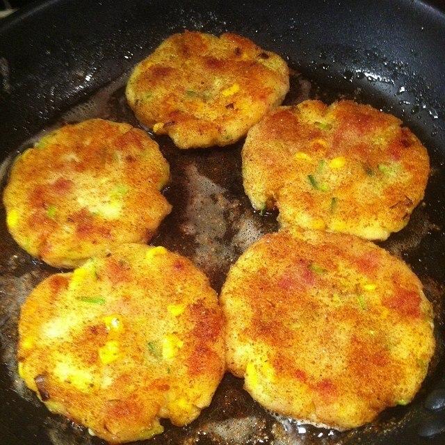 potatiskaka i små formar