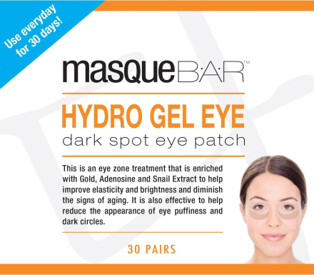 MasqueBar Hydro Gel Eye Dark Spot Eye Patch 30x10ml thumbnail