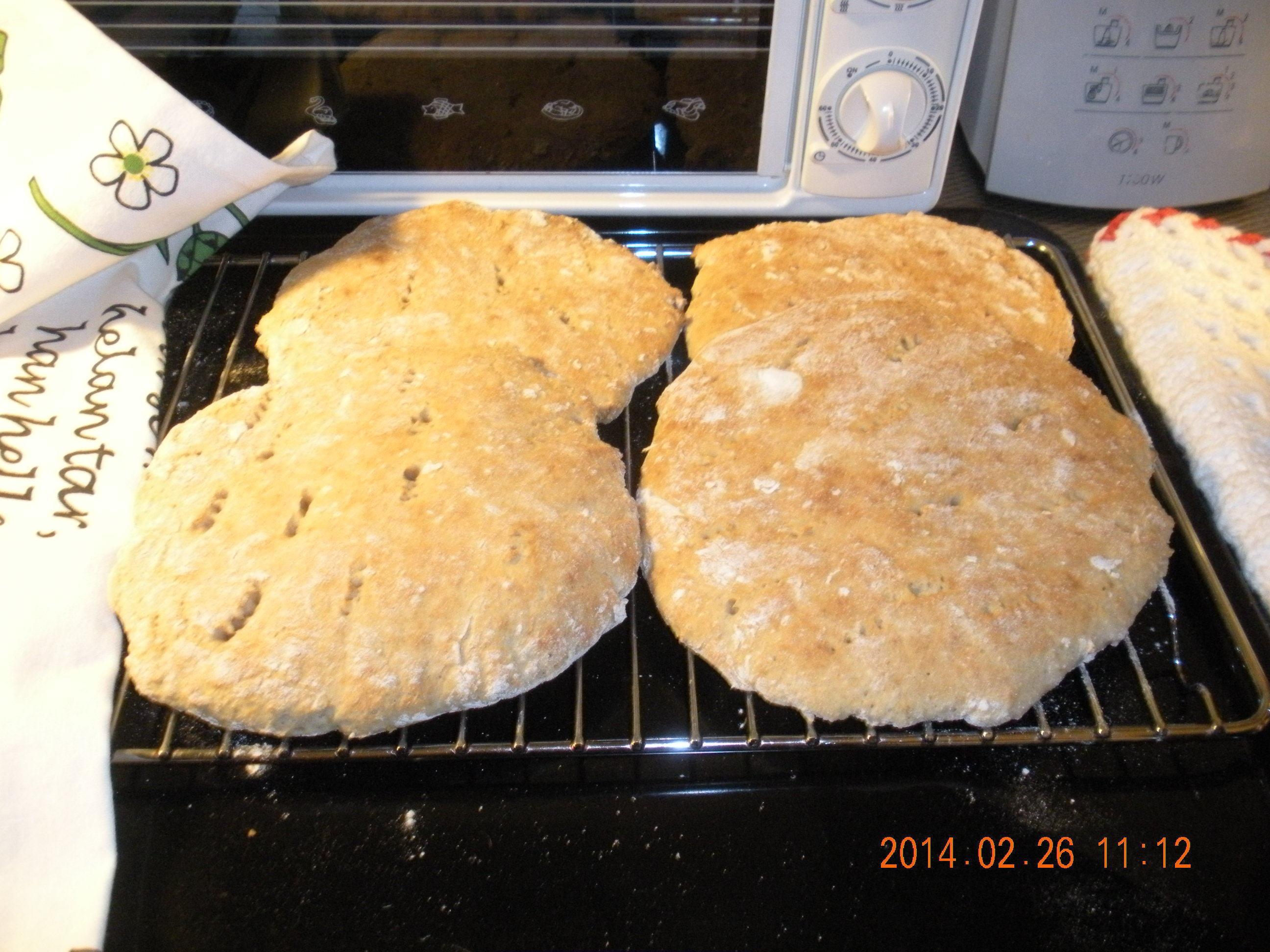 matbröd med bikarbonat