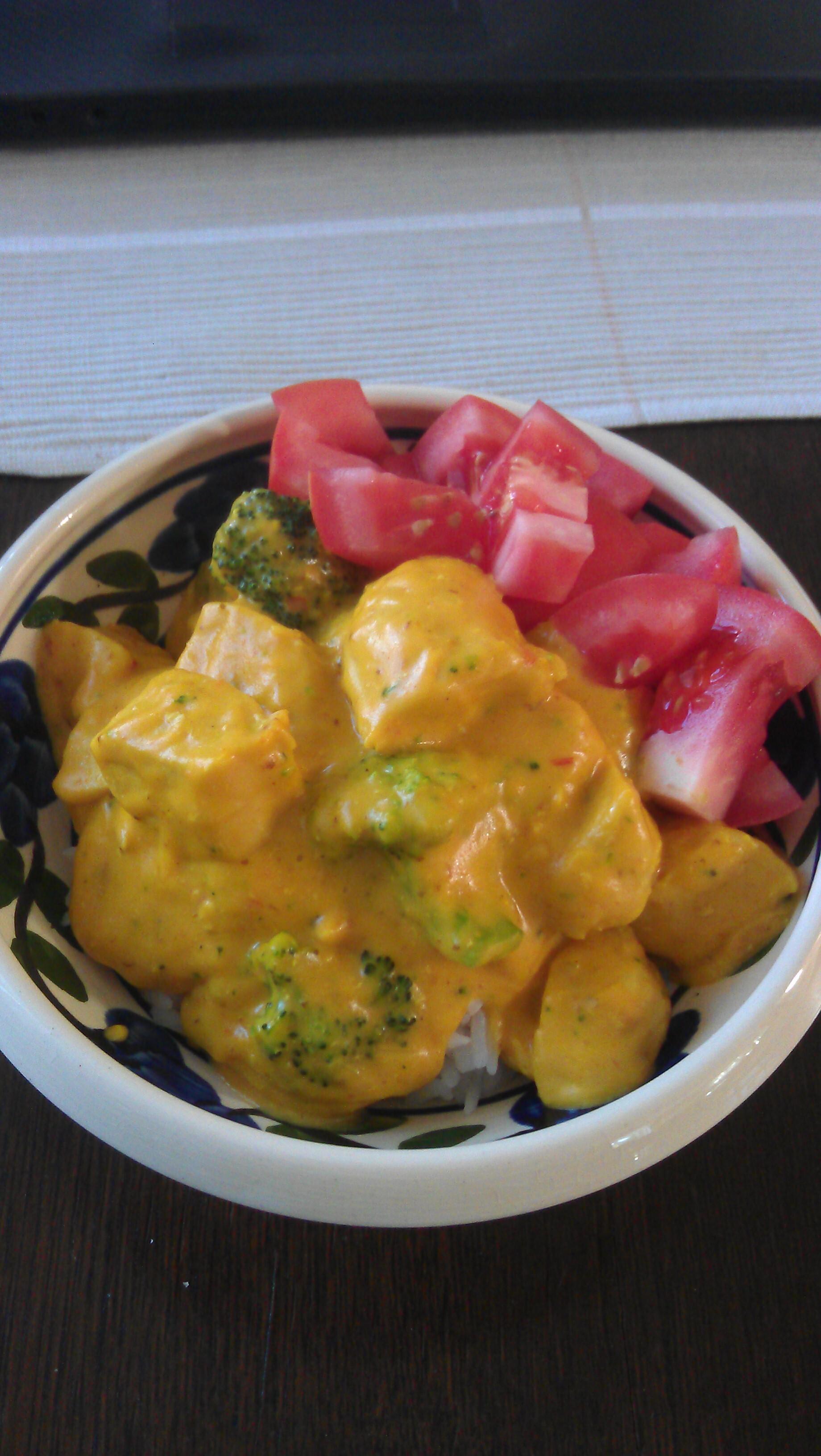 nyttig kyckling curry