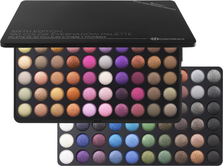 BH Cosmetics Sixth Edition 120 Color Eyeshadow Palette thumbnail