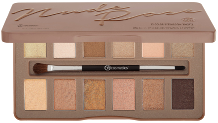 BH Cosmetics Nude Rose 12 Color Eyeshadow Palette thumbnail