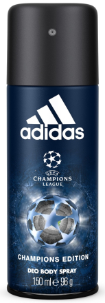 Adidas UEFA CL Champions Edition Deo Spray 150ml thumbnail