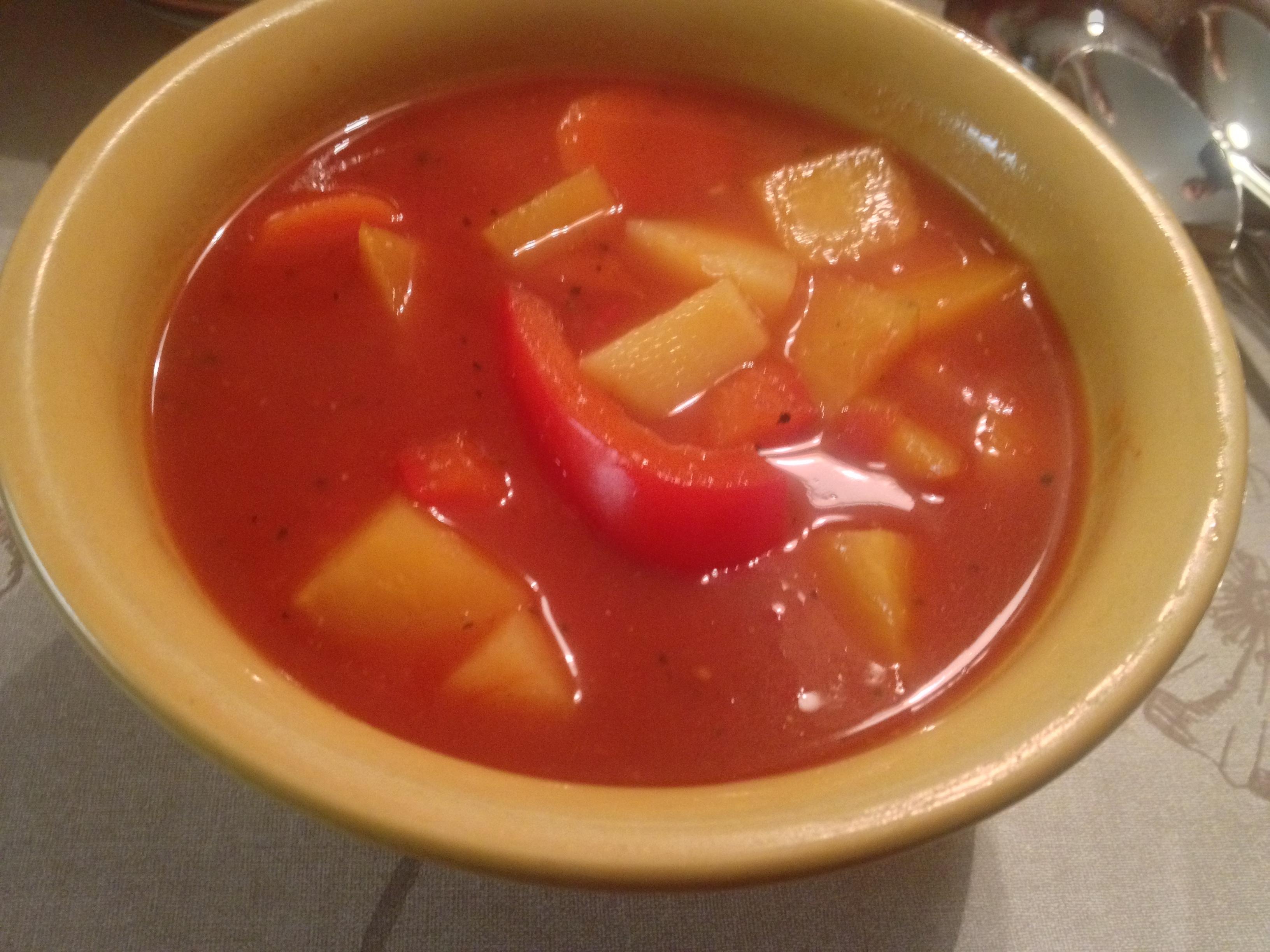 mustig grönsakssoppa