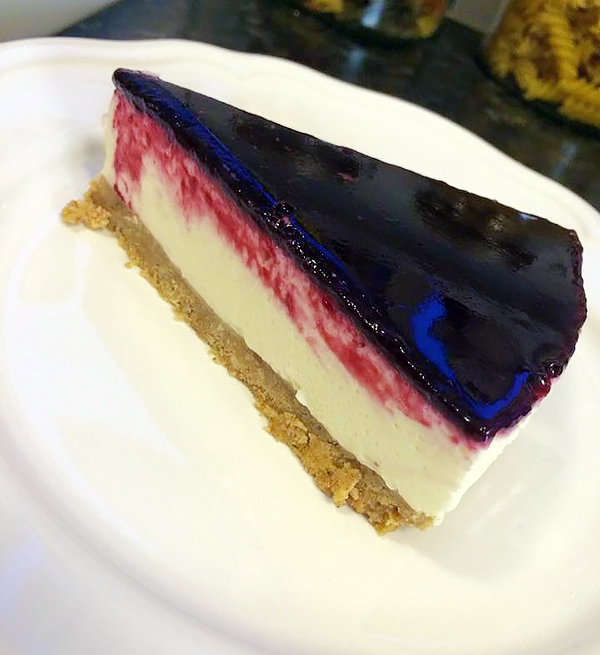fryst cheesecake passionsfrukt
