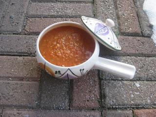 röd linssoppa kyckling