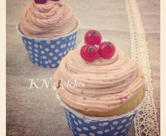 无花果乳酪杯子蛋糕(无牛油版)Yogurt Cupcake With Fig Cream Cheese, butter free