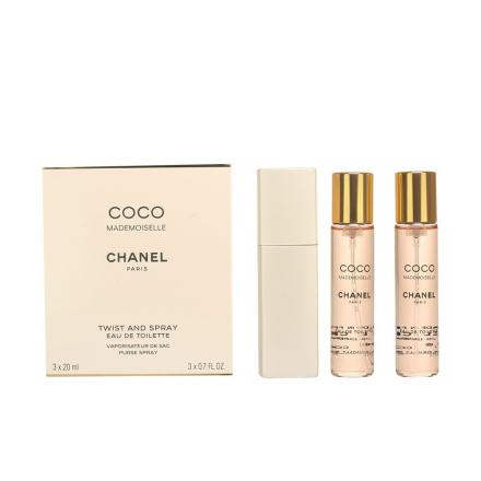 Chanel Coco Mademoiselle Edt Spray Twist&Spray 3x20 60 Ml