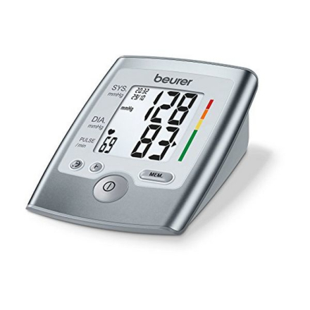 Blodtrycksmätare för Armen Beurer BM 35 Grå