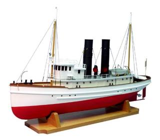 The Lackawanna bogserbåt Dumas