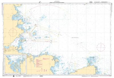 Sjökort 534 Gävle