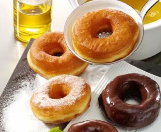 donut ohne donutmaker und friteuse rezepte mytaste. Black Bedroom Furniture Sets. Home Design Ideas