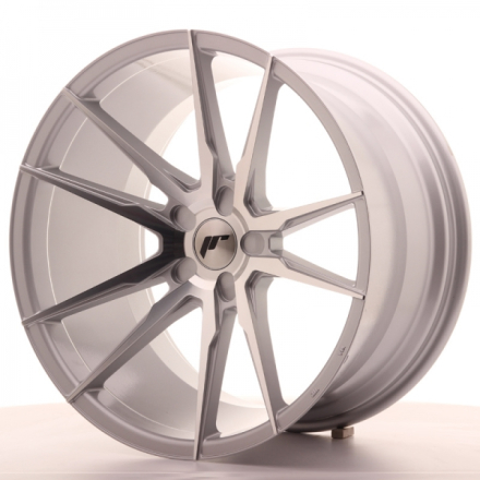 JAPAN RACING JR21 Machined Face Silver 20x11 ET30 CB74.1 5x130-108
