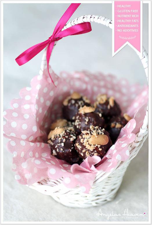 Raw food snacks � Snickersbollar!
