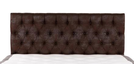 Vintage sänggavel Vintage mocca vägghängd - 180 cm