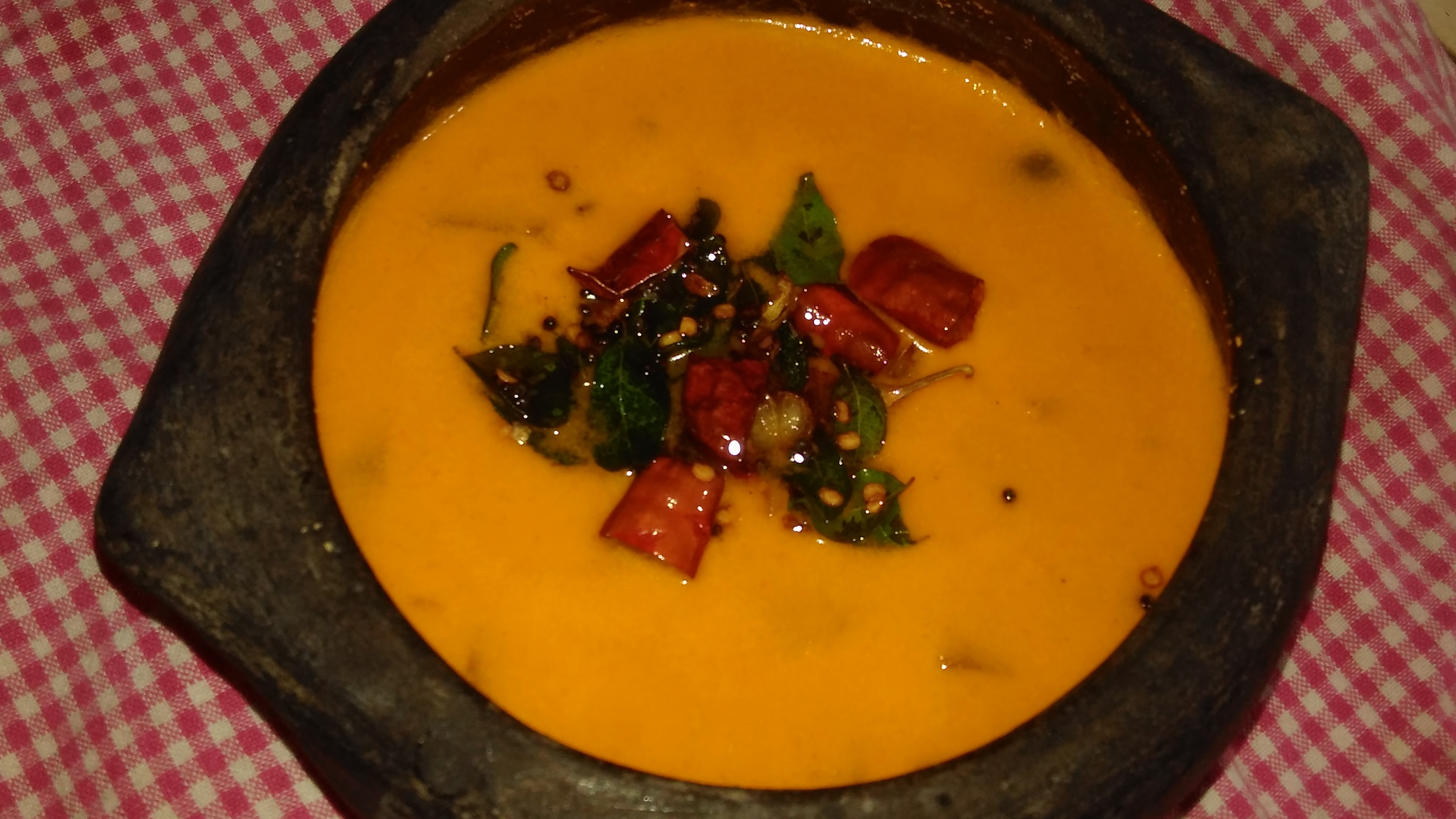 Papaya Coconut Curry