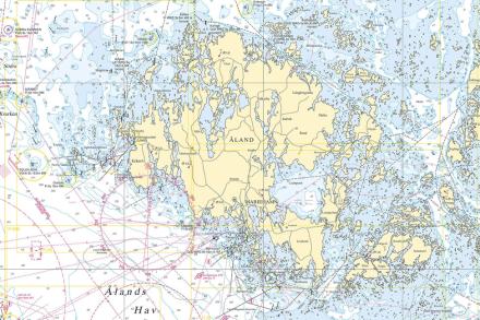 Aland Archipelago Fototapeter & Tapeter 100 x 100 cm