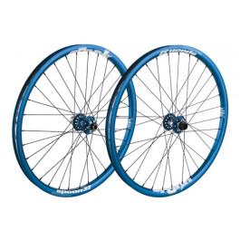"MTB MTB/Hjul VINTERREA ""Spank Spoon Hjulset 26"""" Blå (135x12mm)"""