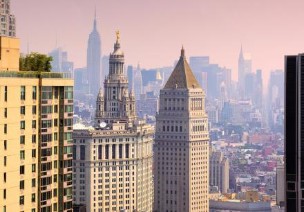 Quite Tall, New York Fototapeter & Tapeter 100 x 100 cm
