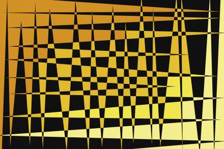 In Memory of Stig L - Orange Fototapeter & Tapeter 100 x 100 cm