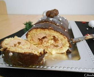 Recettes de buche marron chocolat sans cuisson mytaste - Buche marron chocolat sans cuisson ...