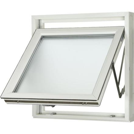 Fönster Aluminium Vridbart Råglas 1-luft