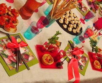 Ricette di stuzzichini per feste di compleanno bambini for Idee per una cena di compleanno