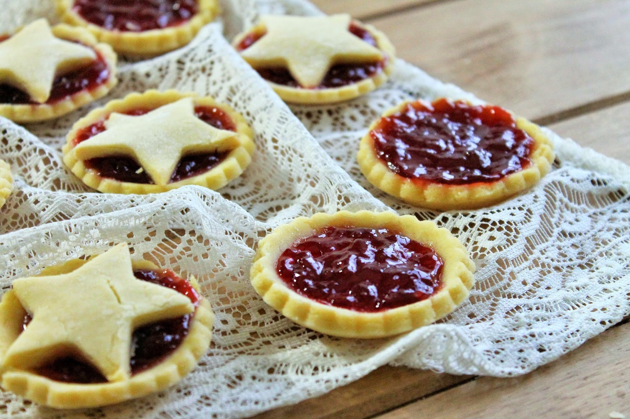 how to make jam tarts easy