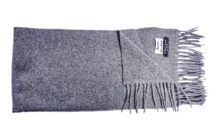 Canada Narrow scarf grey melange