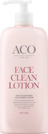ACO Face Soft & Soothing Cleansing Lotion, 400 ml