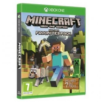 Microsoft- XBOX ONE Minecraft - Favourites Pack