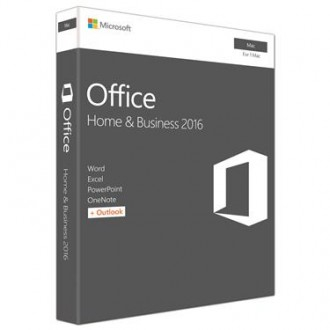 Microsoft- Office Mac Home - Business 1PK 2016 Nordic 1 License