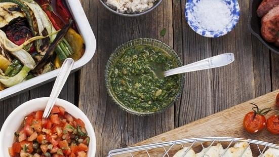 Grön salsa - Salsa verde
