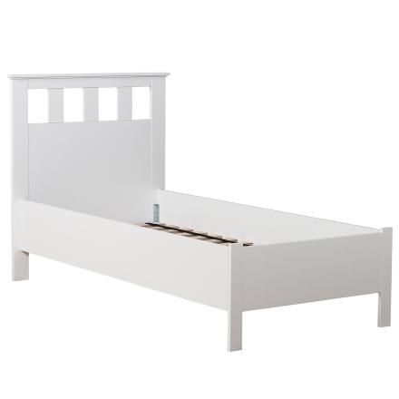 Saga sängram vitlack - 180x200 cm