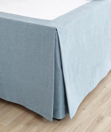 Sängkappa motveck för ihopstående ställbara sängar - 210 cm (2 st 105 cm sängar)Upp till 65 cm (skriv exakt mått nedan)