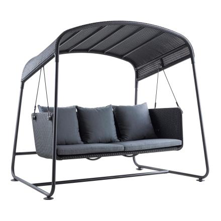 Cave hammock inkl. grå Sunbrella dynor