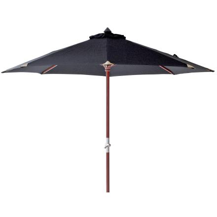 Aberdeen parasoll Ø 300 cm svart
