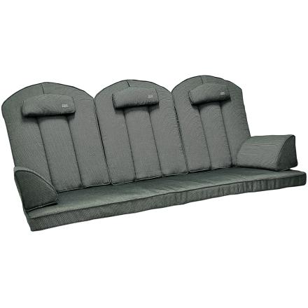 Hammockdynor hög rygg Fritab Edition granitgrå strukturdralon