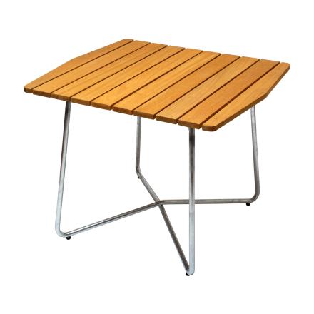 B30 bord oljad ek med varmförzinkat stativ 84×92 cm