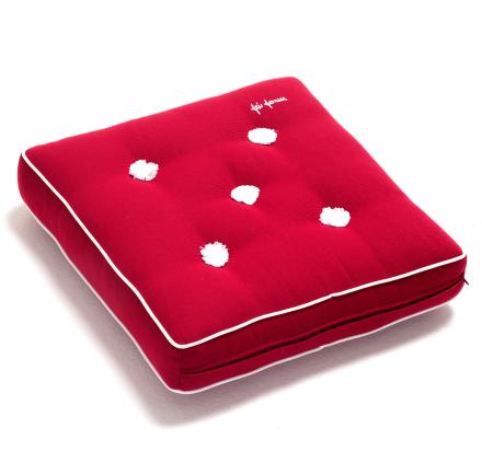 Fri Form dyna 42x42 cm röd