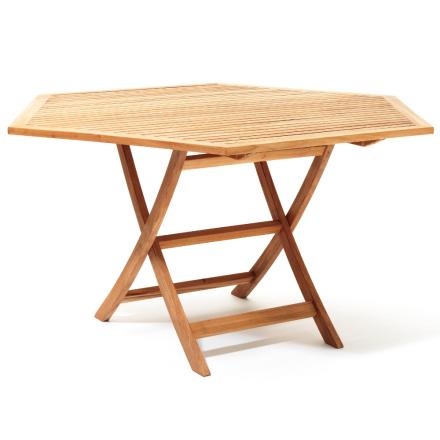 Viken bord Ø 140 cm teak