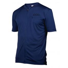 "MTB Cykel/Kläder/Dam/T-Shirt MTB/Kläder MTB/POC ""Trail Light Zip Tee Boron Blue"""