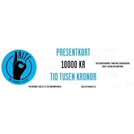 "Root Catalog/Default Category PRESENTKORT ""Presentkort Rite, 10000 kr."""