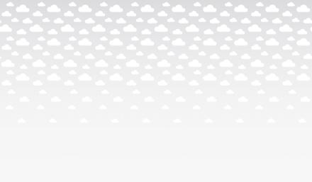 Cumulus - Grey Fototapeter & Tapeter 100 x 100 cm