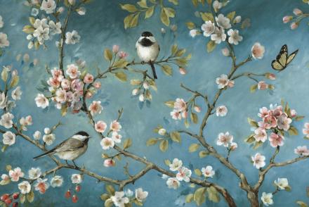 Blossom Fototapeter & Tapeter 100 x 100 cm