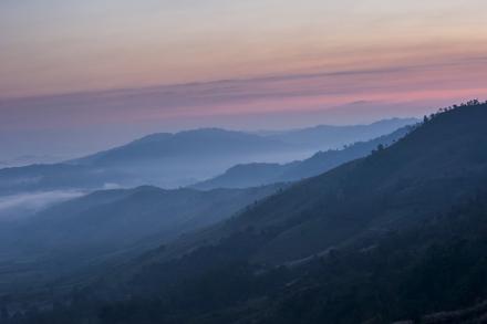 Northern Thailand Landscape Fototapeter & Tapeter 100 x 100 cm