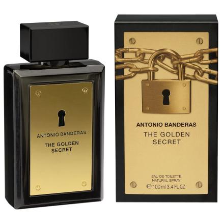 Antonio Banderas Golden Secret Edt Spray 100 Ml